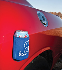 koozies that sticks to a car